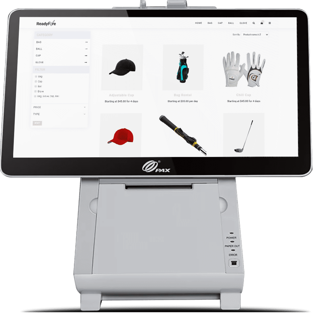 Rental Business POS system